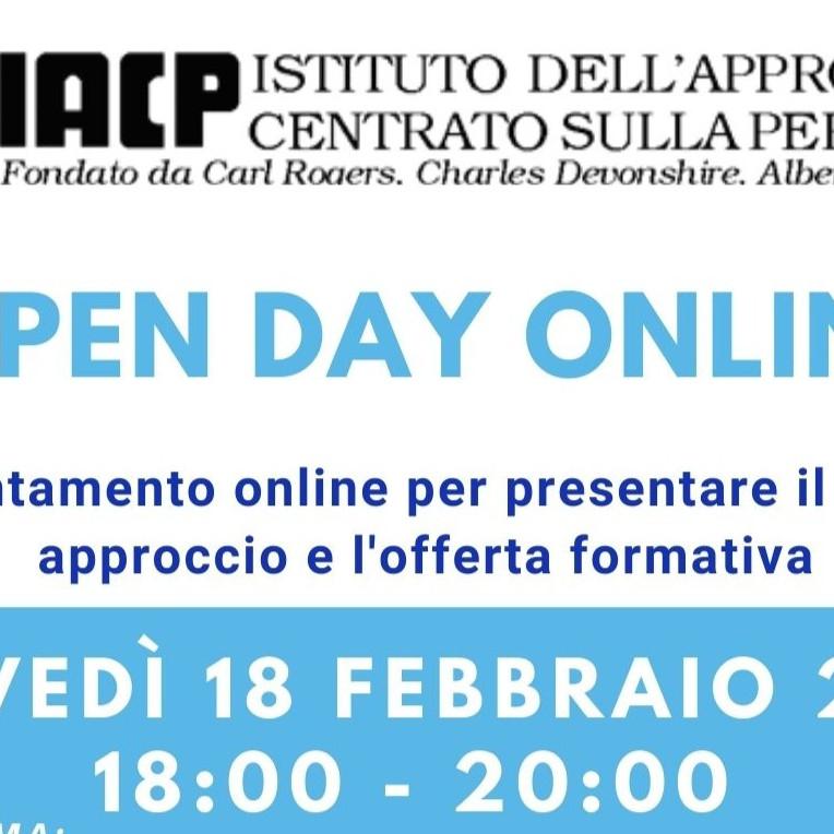 OPEN DAY ONLINE sede di Roma