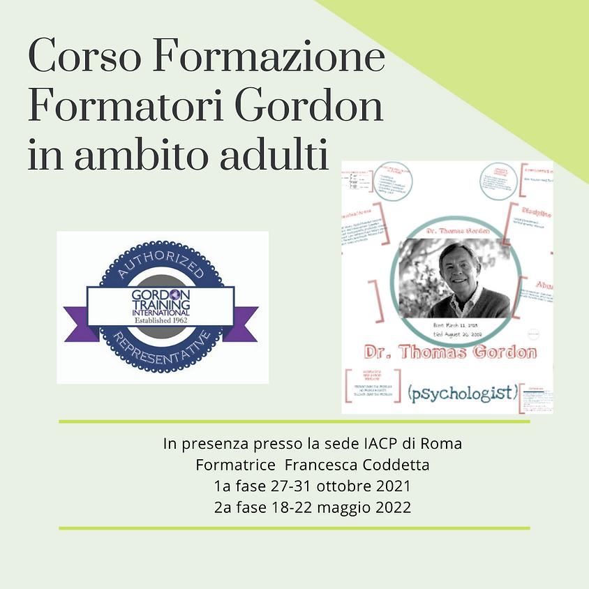 Corso Formazione Formatori Gordon Ambito Adulti  FFGAA24