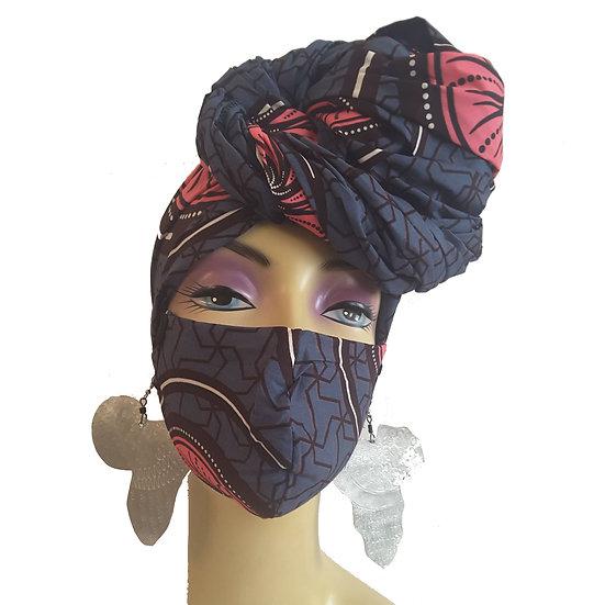 Urban Rose Head Wrap Set