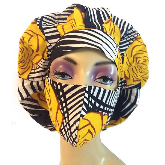 YellowRose Bonnet Set