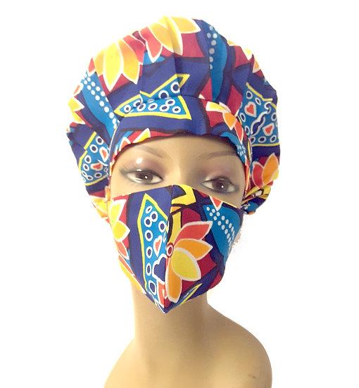 Tropical Queen Bonnet Set