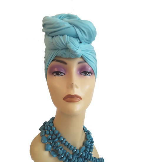 Tranquil Turquoise Head Wrap