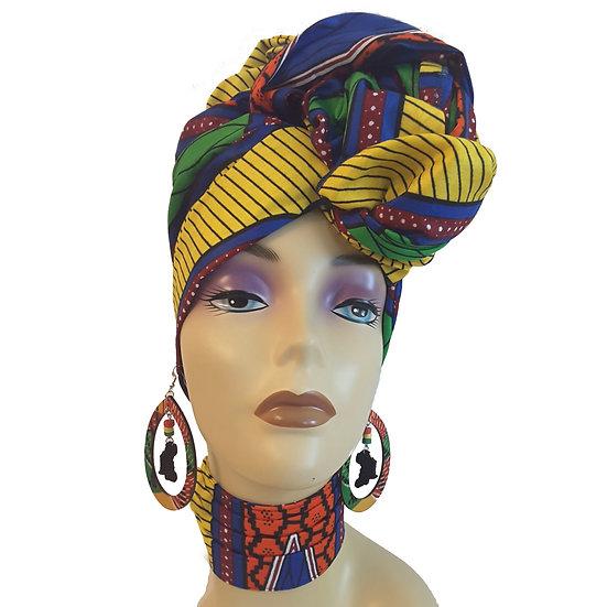 Pri-Mary Colors Head Wrap Set