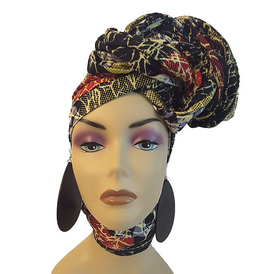 Abstracts Head Wrap Set
