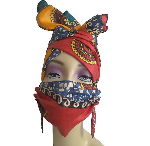 SistahScarlet Head Wrap Set