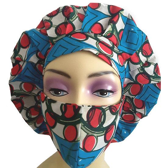 Cherry Cherrie Bonnet Set