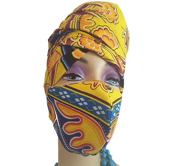 Phoenix Head Wrap Set
