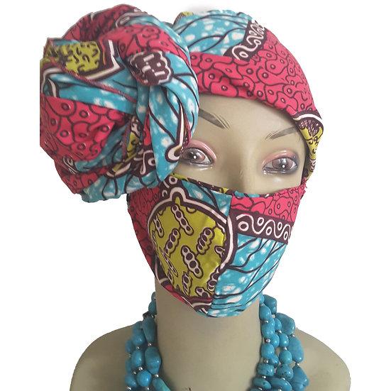 Cotton Candy Head Wrap Set