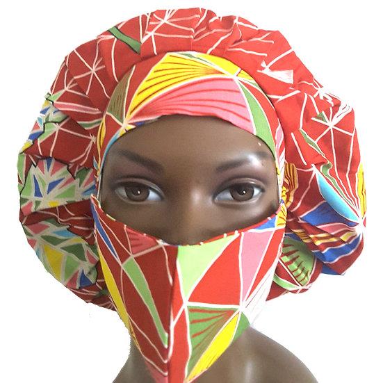 Tropical Vibes Bonnet Set
