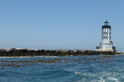 Breakwater and Lighthouse - San Pedro Bay