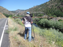Ash Creek Bridge HAER, Siskiyou Co.