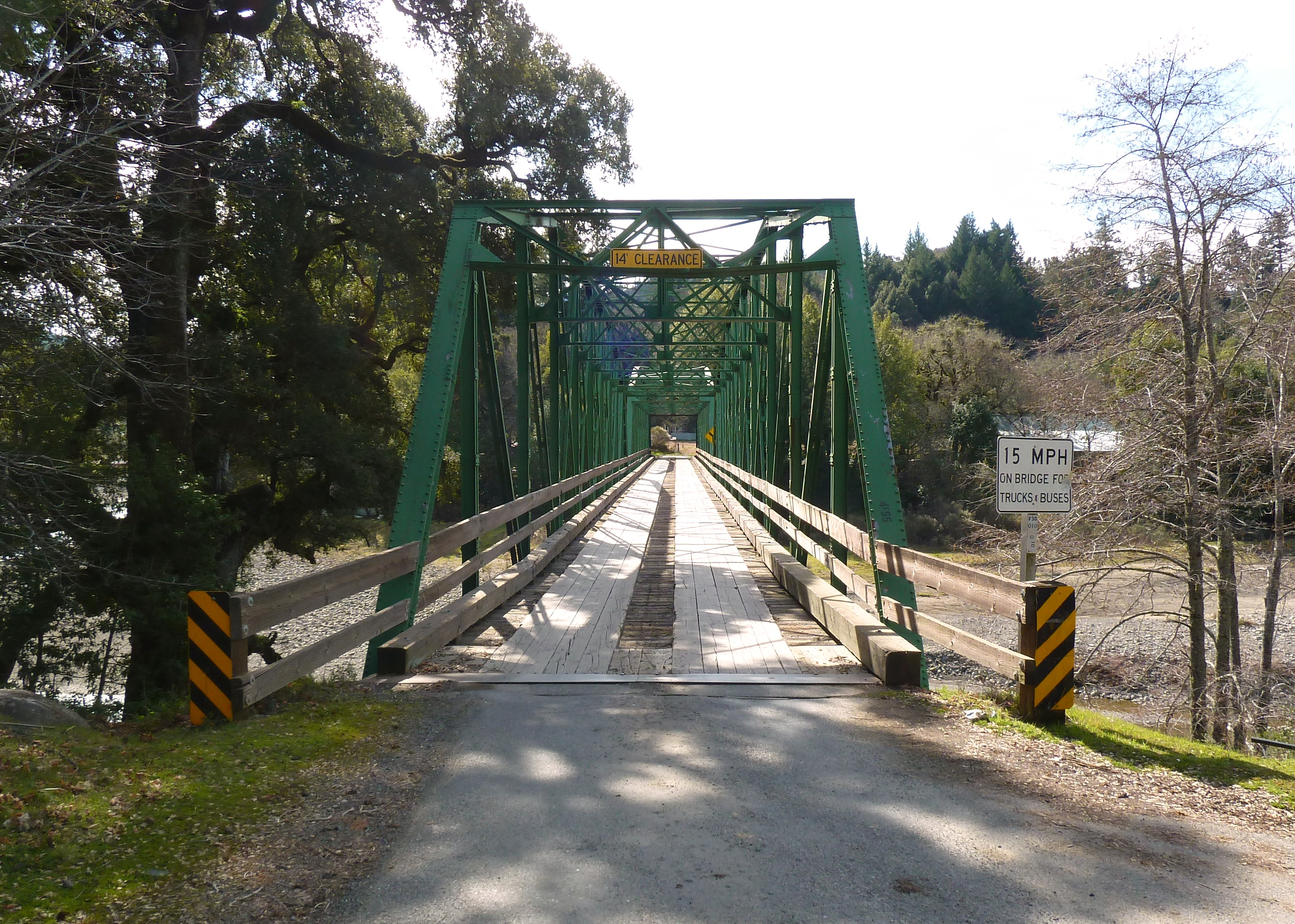 Honeydew Bridge over the Mattole River