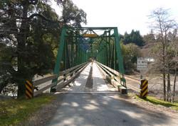 Honeydew Bridge over the Mattole River