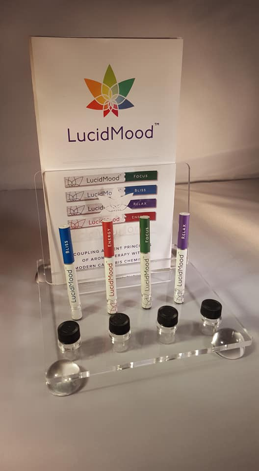 Acrylic dispensary(in store) display