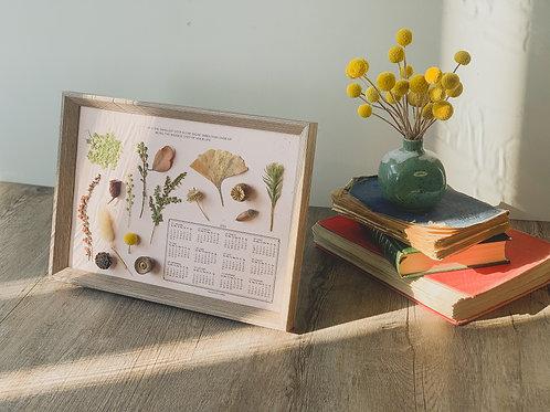 Flower Art Calendar 2022