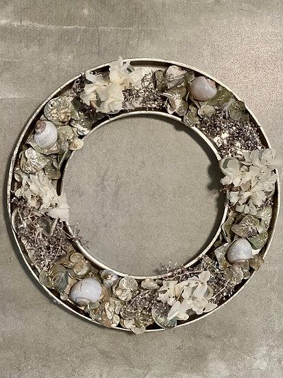Metallkranz, dekoriert