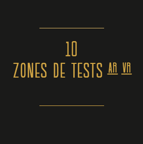 Le Pavillon - zone de tests