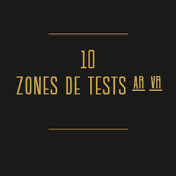 Le Pavillon - zone de tests