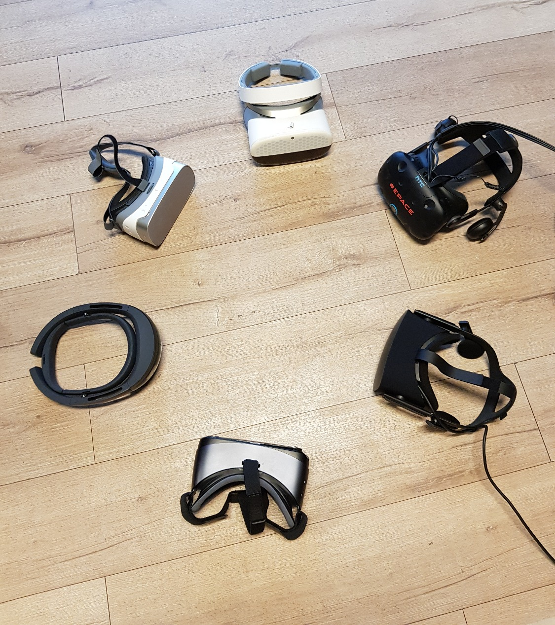 Le Pavillon - Masques de VR