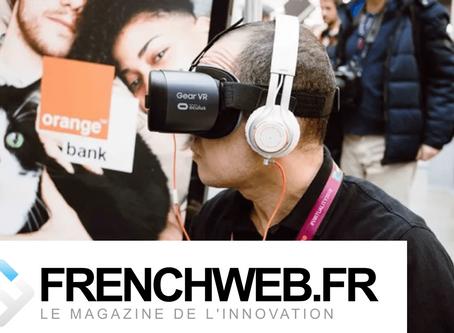 [Article Frenchweb] - La démocratisation de la réalité virtuelle passera par le monde professionnel