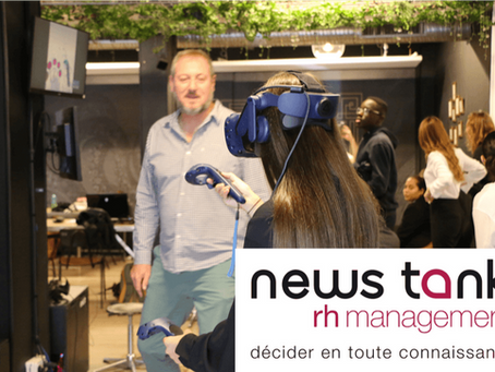 [Interview Newstank RH] - Forte attraction des RH pour la réalité virtuelle et augmentée
