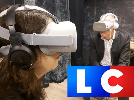 [Article LCI] - Avec la VR, devenez Zoé, confrontée au sexisme ordinaire dans sa boîte