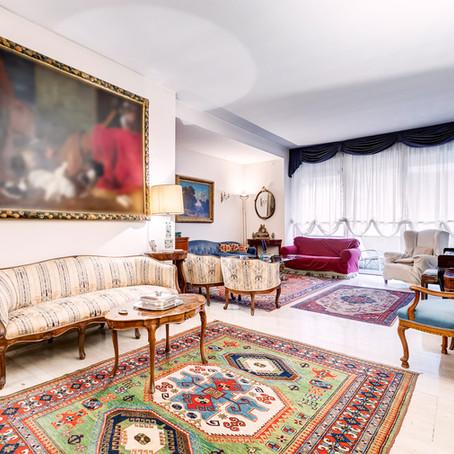 Appartamento signorile e luminoso ai Monti Parioli