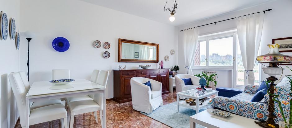 Luminoso appartamento a Conca D'Oro ristrutturato e con posto auto coperto