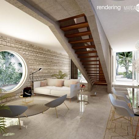 Villa di design con parco in via di Boccea