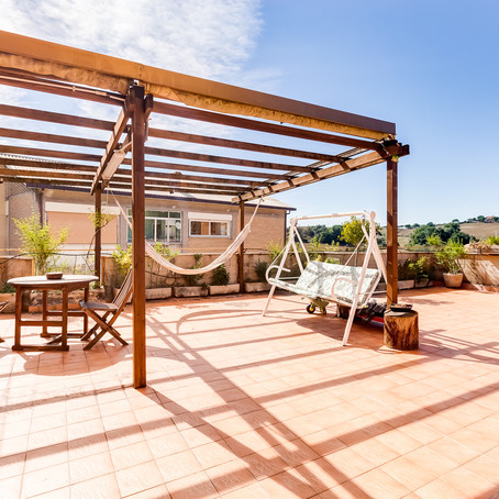 Appartamento con terrazzo panoramico sulla Cassia