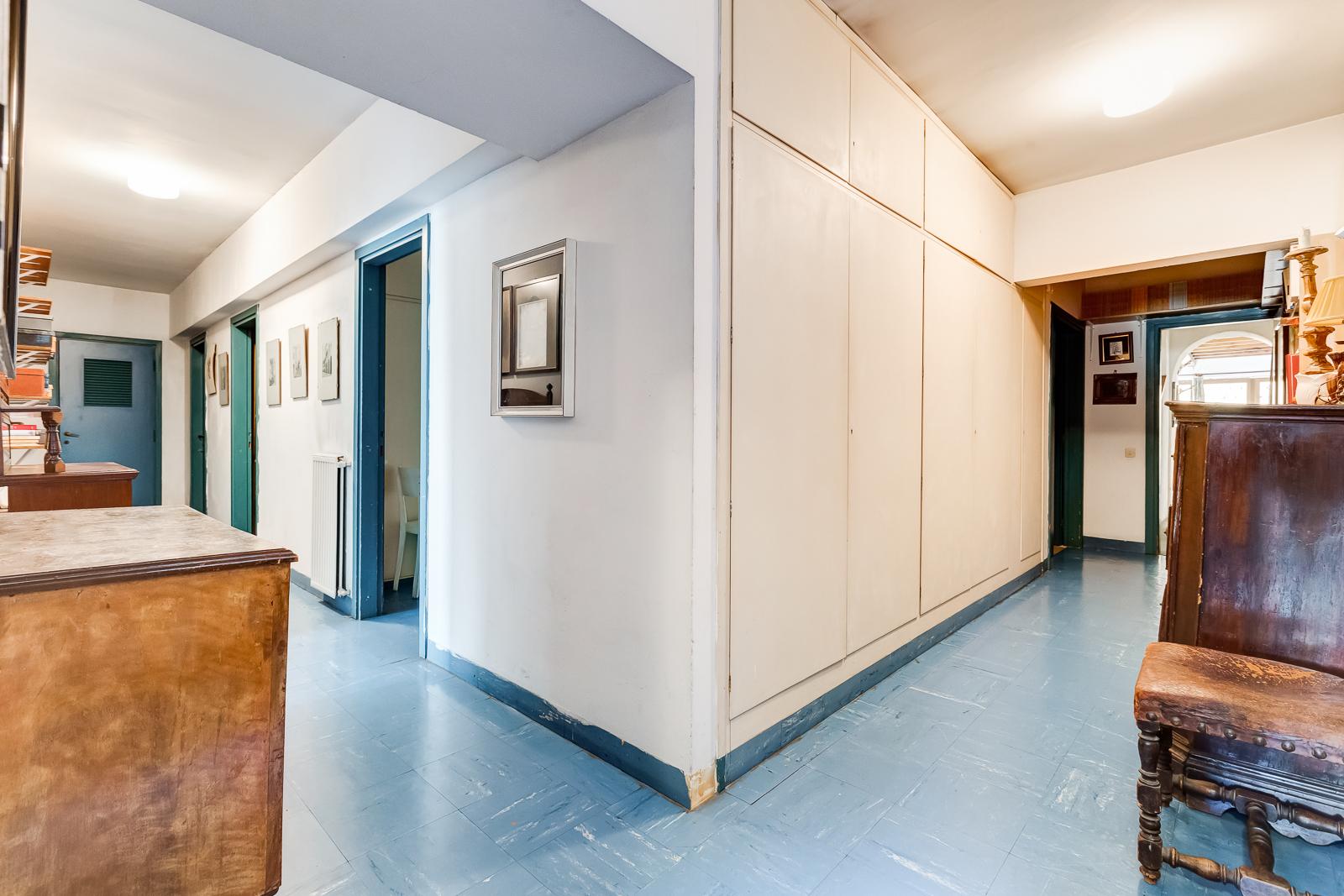 corridoio e locali tecnici e di servizio al piano interrato