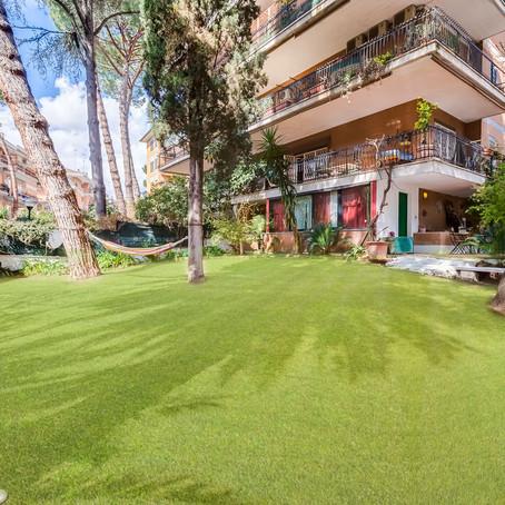 Un angolo di paradiso nel verde di Villa Bonelli