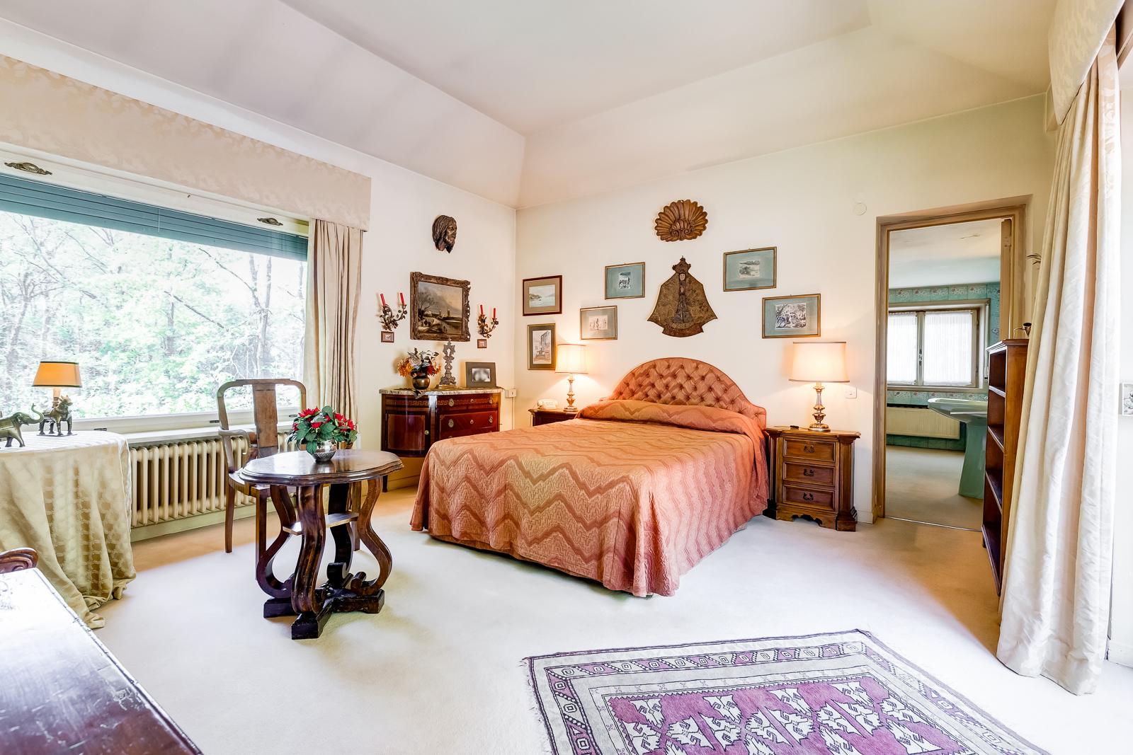 camera da letto della suite padronale