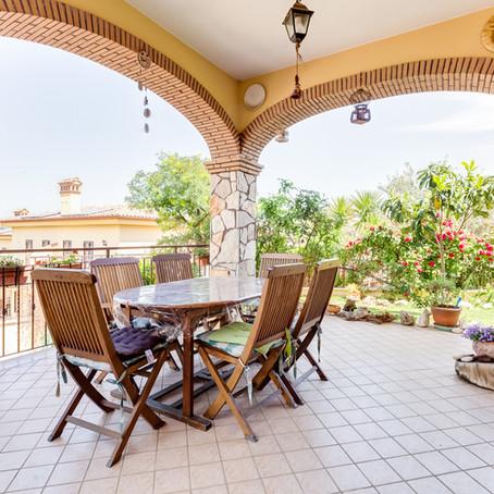 Villino panoramico con giardino a Marco Simone