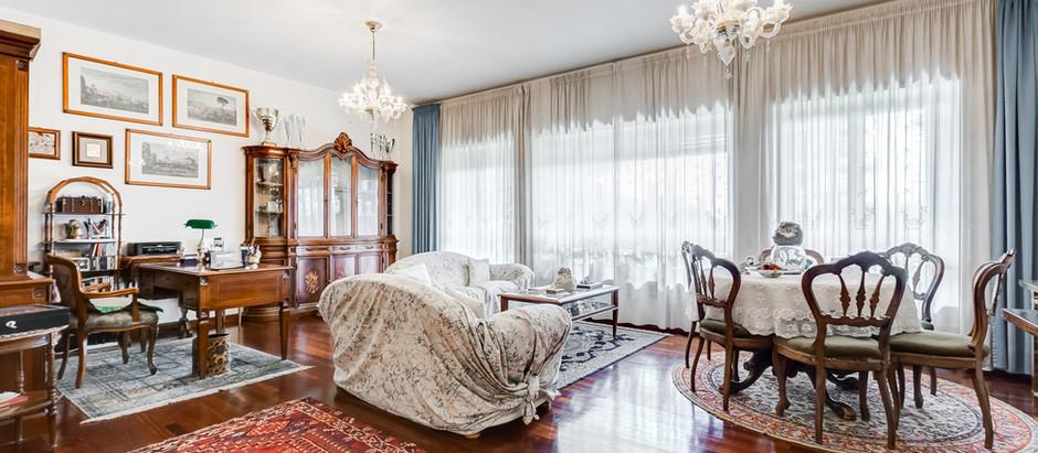 Elegante appartamento sulla Cassia di ampia metratura in complesso signorile
