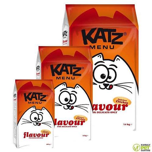 """Katz Menu Seçici Kediler için Tam Sindirim """"TAHILSIZ, GLÜTENSİZ, TAVUKLU"""" Mama !"""
