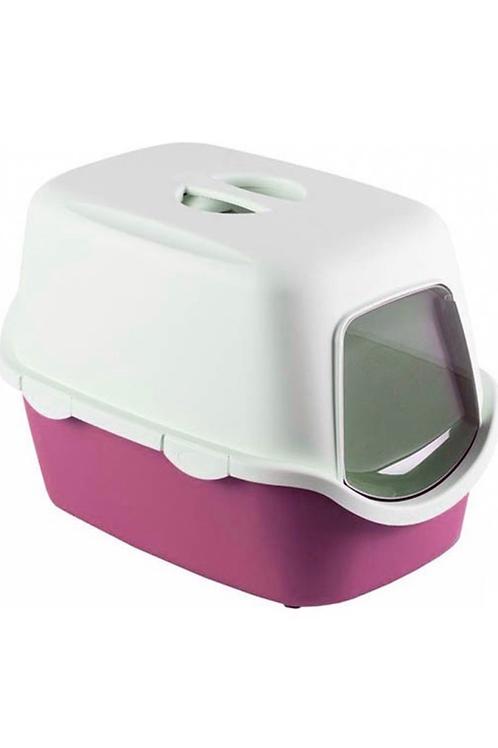Orta Boy İthal Kapalı Kedi Tuvaleti ve Küreği 40x40x56CM