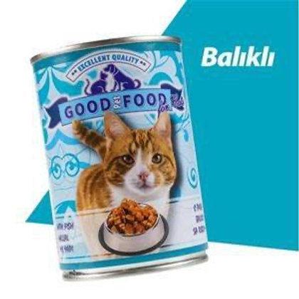 """Good Pet Food """"BALIKLI"""" Kedi Konservesi"""