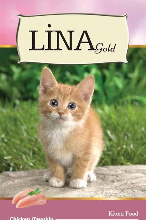 """Lina Gold Yavru Kediler için """"TAVUKLU"""" 15 KG Mama !"""