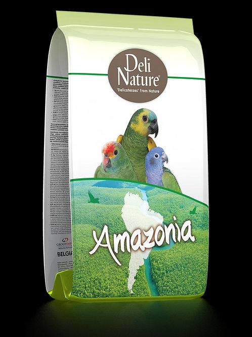 Deli Nature Amazonia - Amazon ve Pionus Papağanları İçin Komple Premium Yem 2 KG
