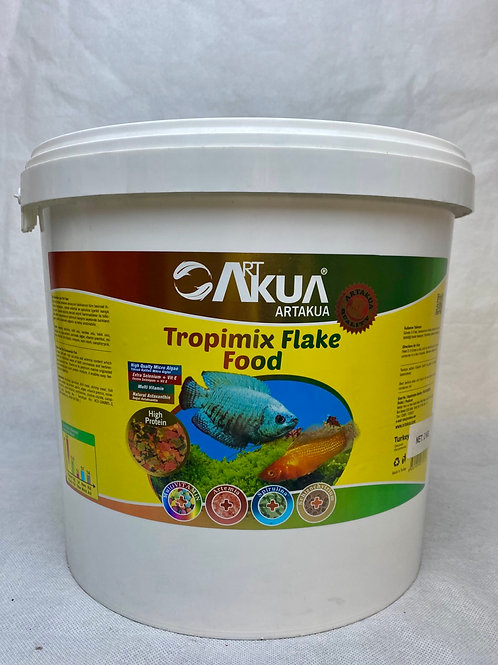 Art Akua Yüksek Proteinli Tropimix Pul Balık Yemi 2 KG