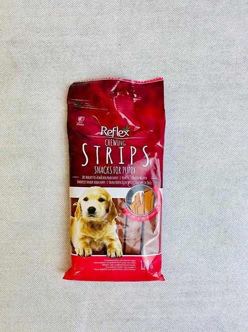 Reflex Chewing Strips Biftekli Yavru Köpek Köpek Ödülü 120GR