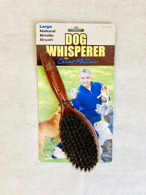 Dog Whisperer Cesar Millan'dan Büyük Köpekler için Doğal Kıl ve Tüy Fırçası