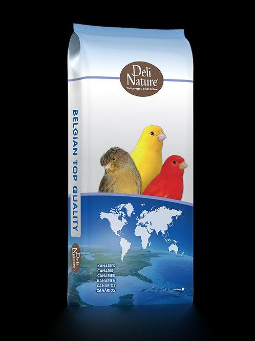 Deli Nature 80 - Premium Şalgamsız Kanarya Yemi 20 KG