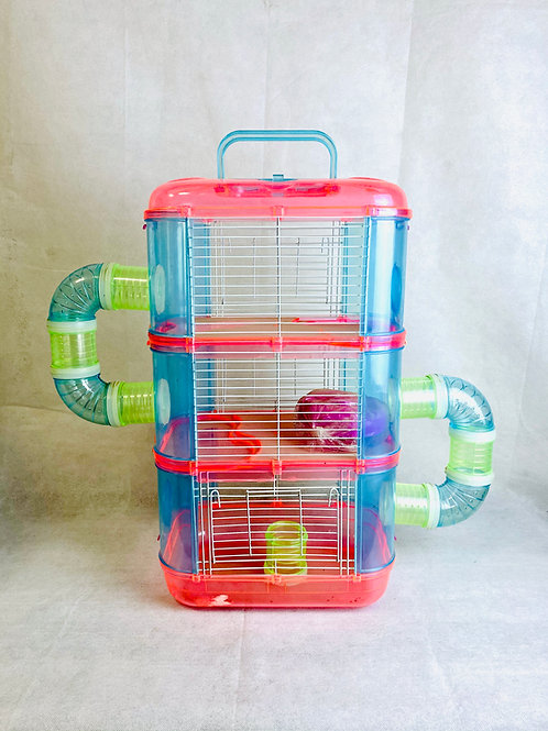 3 Katlı Hamster Oyun Evi