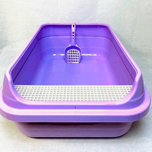 Kedi Açık Tuvalet ve Küreği