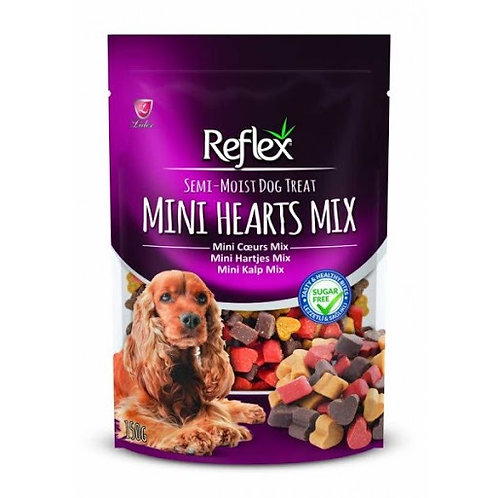 Köpekler için Şekersiz Yarı Islak Mini Kalp Ödül Maması