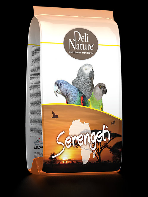 Deli Nature Serengeti - Premium Mix Papağan Yemi 2 KG