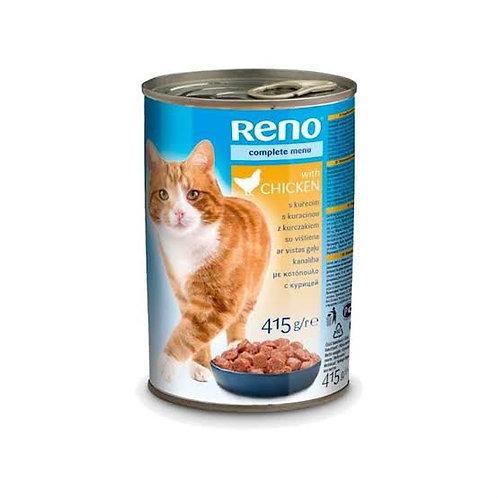 "Reno Kediler için ""TAVUKLU"" Konserve Mama !"
