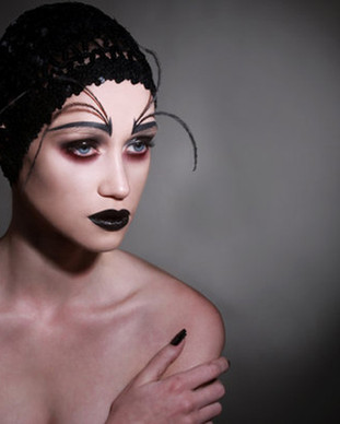 dramatisches Make-up